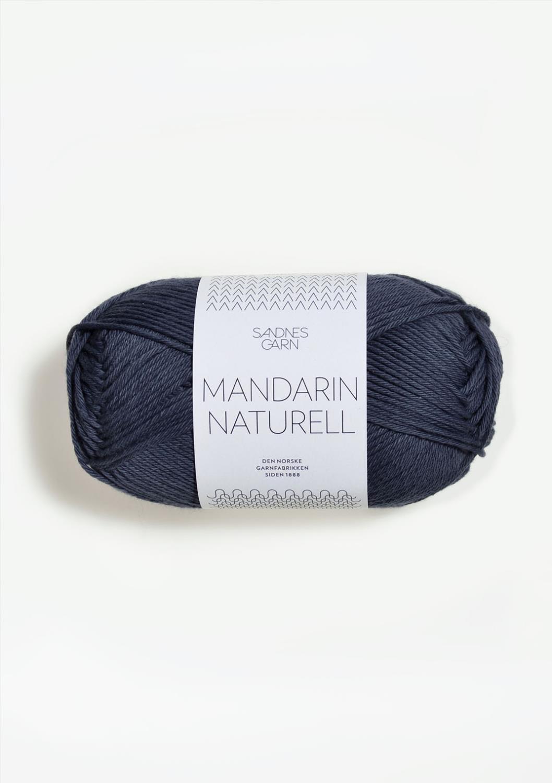 6061 Mandarin Naturell Mørk Gråblå