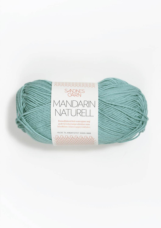 6823 Mandarin Naturell Turkis