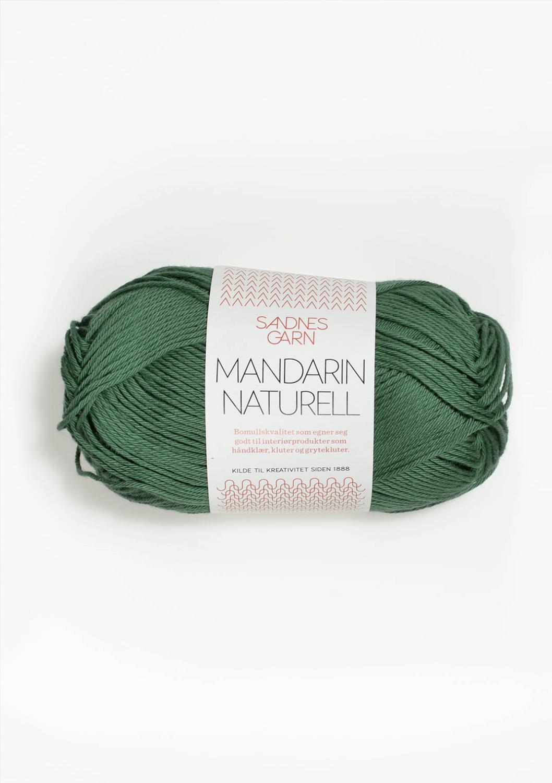 8052 Mandarin Naturell Mørk Grønn