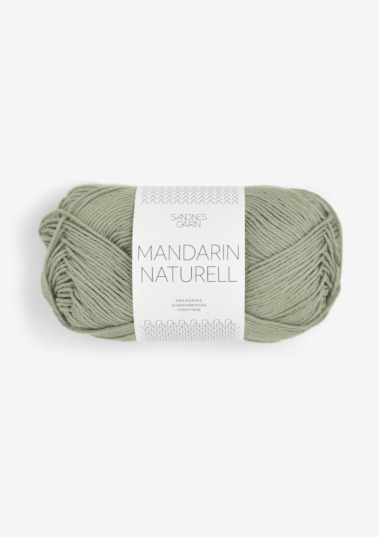 9041 Mandarin Naturell Støvet Lys Grønn