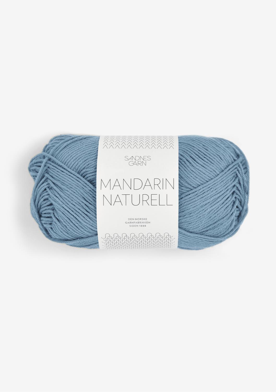 9463 Mandarin Naturell Jeansblå