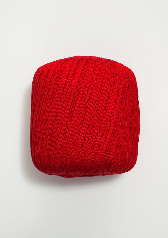 4228 Mandarin Heklegarn Rød