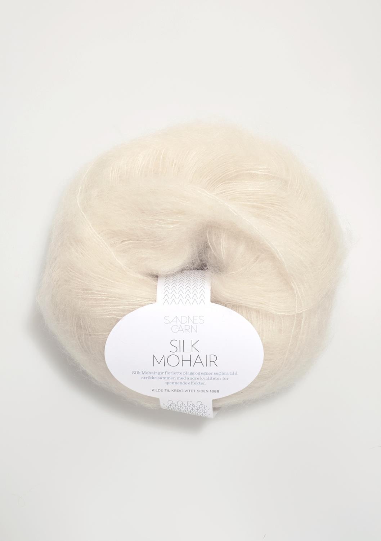1012 Silk Mohair Natur