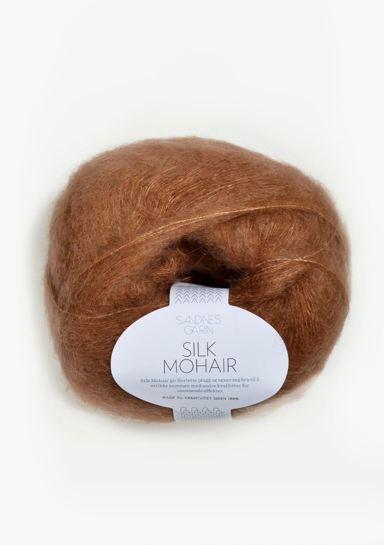 2543 Silk Mohair Brunt Sukker