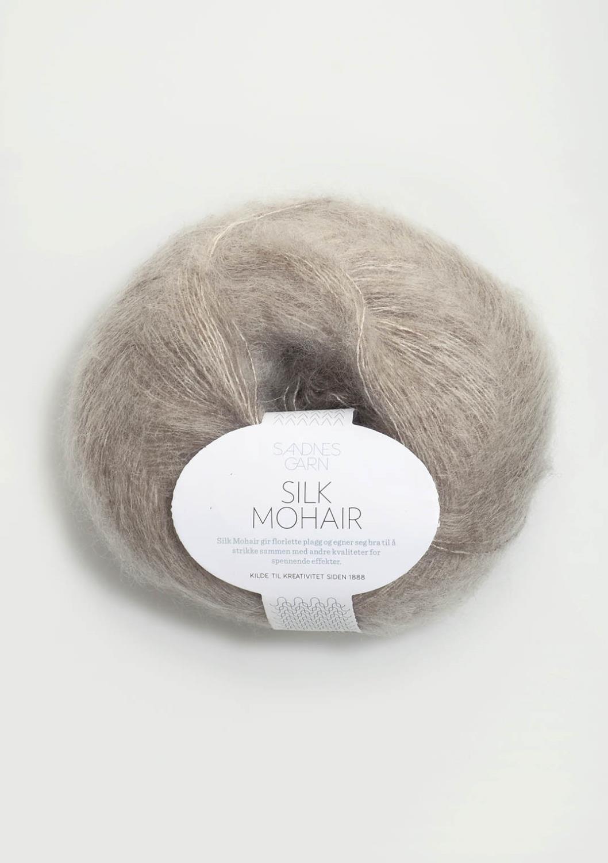 2650 Silk Mohair Beigemelert