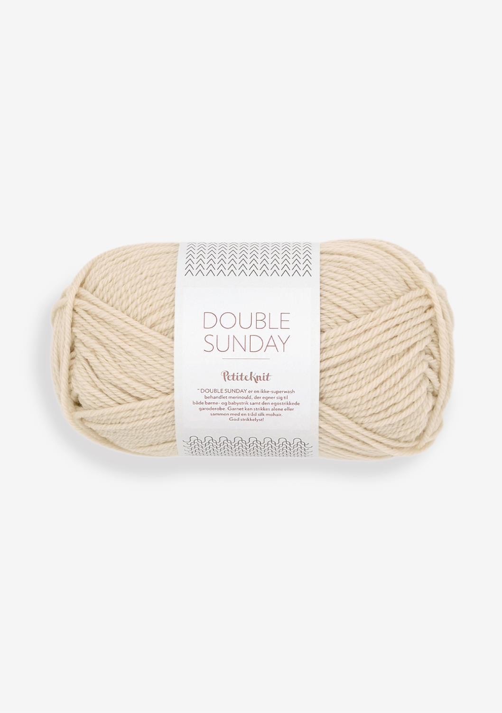 2511 PetitKnit Double Sunday Almond