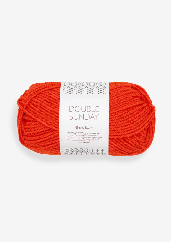 3819 PetitKnit DOUBLE SUNDAY That Orange Feeling