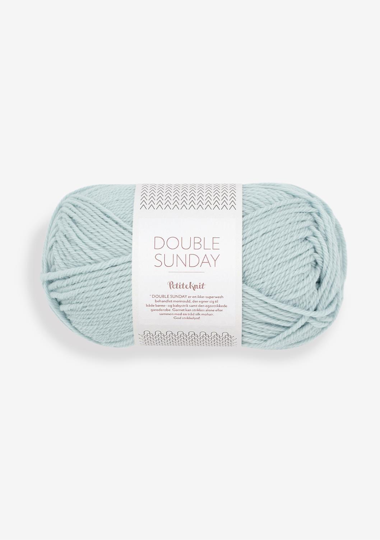 5930 PetitKnit DOUBLE SUNDAY Pale Blue