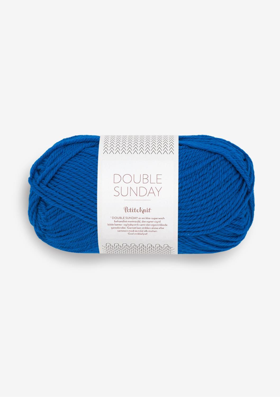 6046 PetitKnit DOUBLE SUNDAY Electric Blue