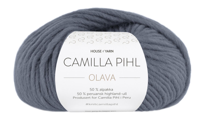 Olava - Mørk gråblå