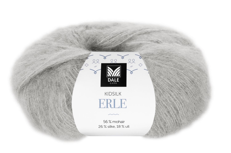Kidsilk Erle - Lys grå