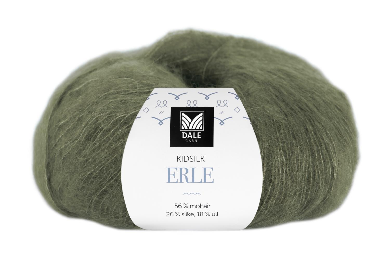 Kidsilk Erle - Armygrønn