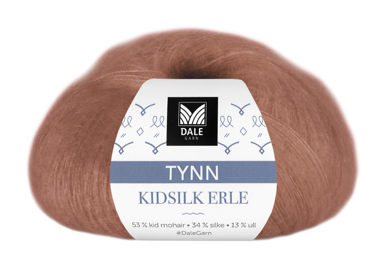 Tynn Kidsilk Erle - Messing