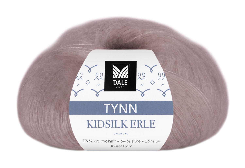 Tynn Kidsilk Erle - Rose