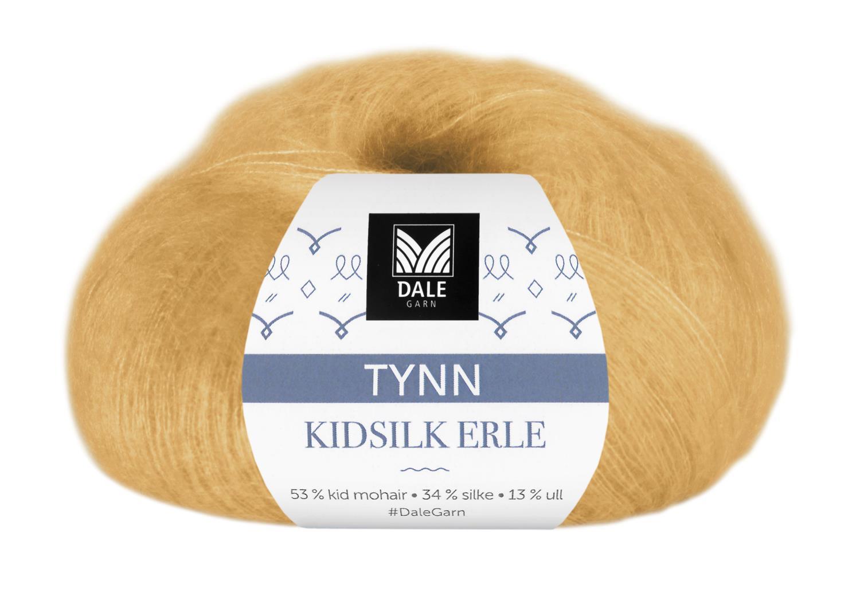 Tynn Kidsilke Erle - Maisgul