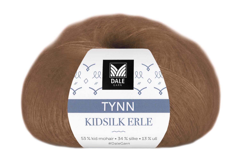 Tynn Kidsilke Erle - Varmbrun
