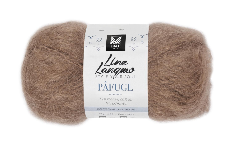 Line Langmo Påfugl - Kamel