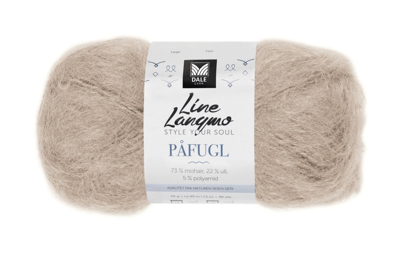 Line Langmo Påfugl - Beige