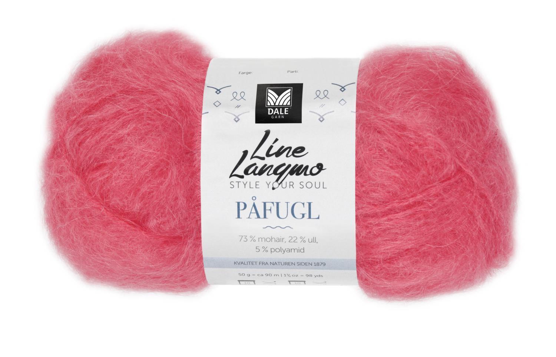 Line Langmo Påfugl - Korall
