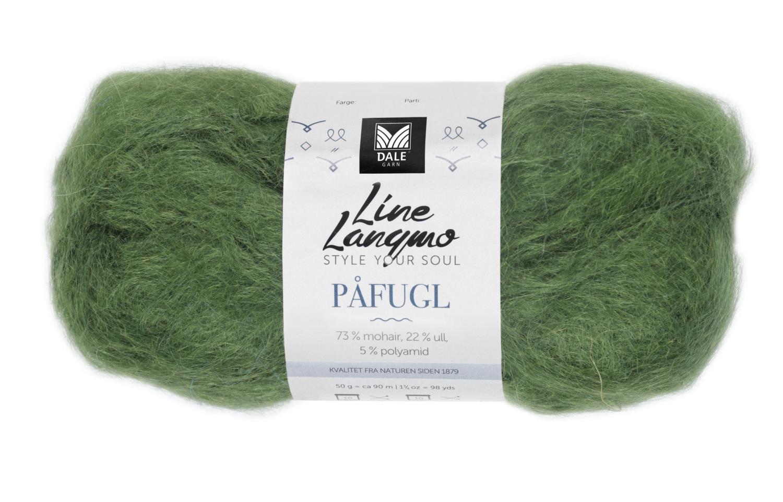 Line Langmo Påfugl - Gressgrønn