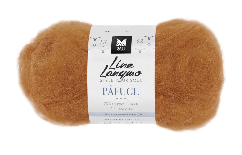 Line Langmo Påfugl - Safrangul