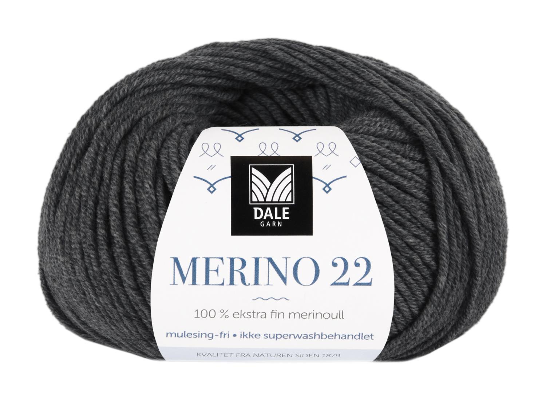 Merino 22 - Koks melert