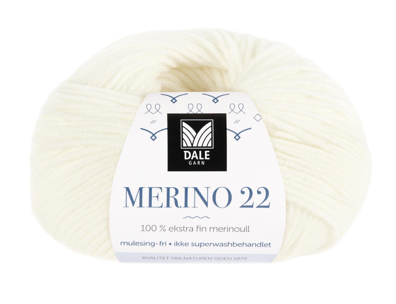 Merino 22 - Hvit