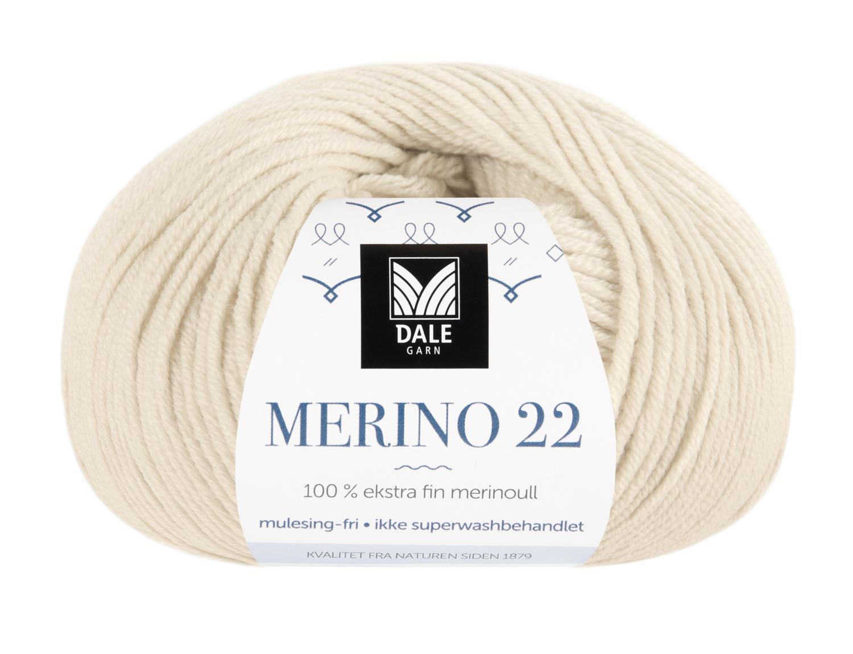 Merino 22 - Lys beige melert