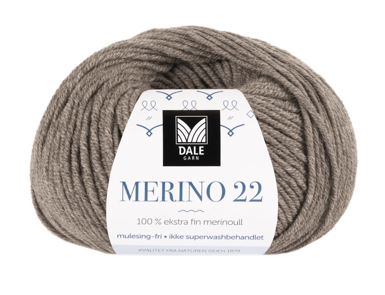 Merino 22 - Lys brun melert