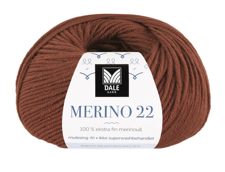 Merino 22 - Brent kobber
