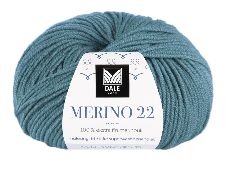 Merino 22 - Mørk sjøgrønn