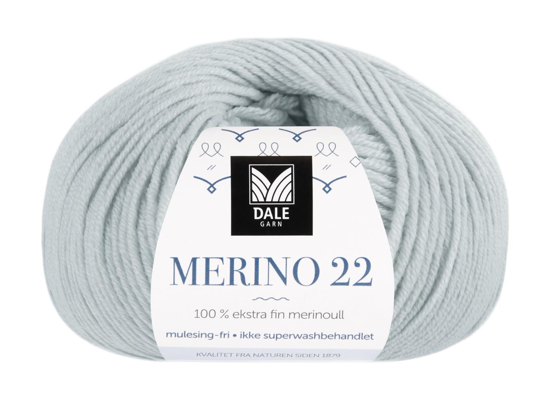 Merino 22 - Dueblå