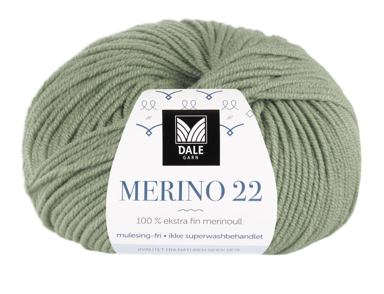 Merino 22 - Jadegrønn