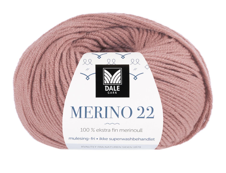 Merino 22 - Dus rose