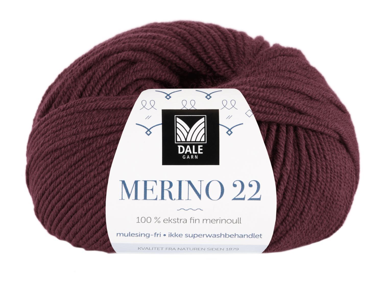 Merino 22 - Vinrød