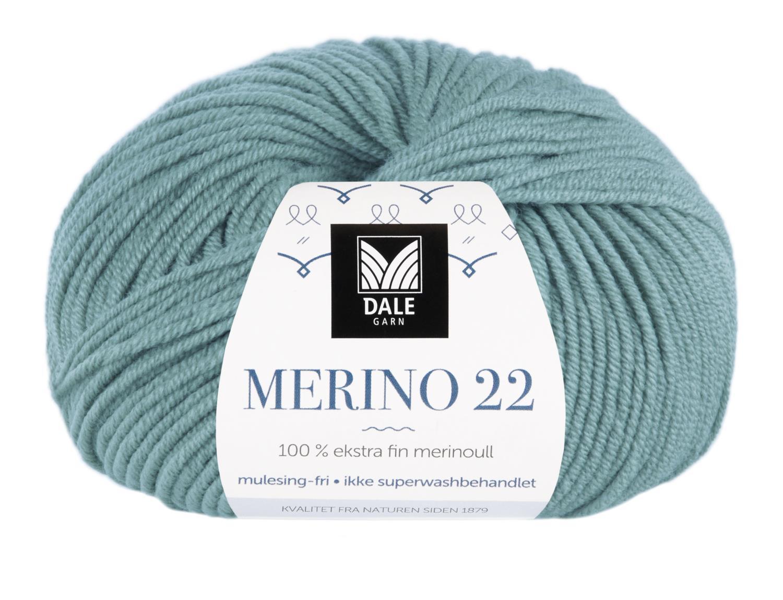 Merino 22 - Aquagrønn