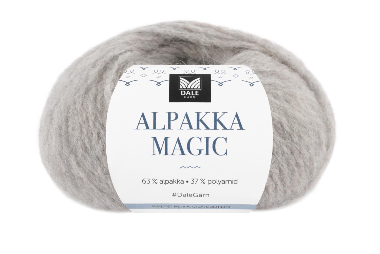 Alpakka Magic - Lys gråbrun
