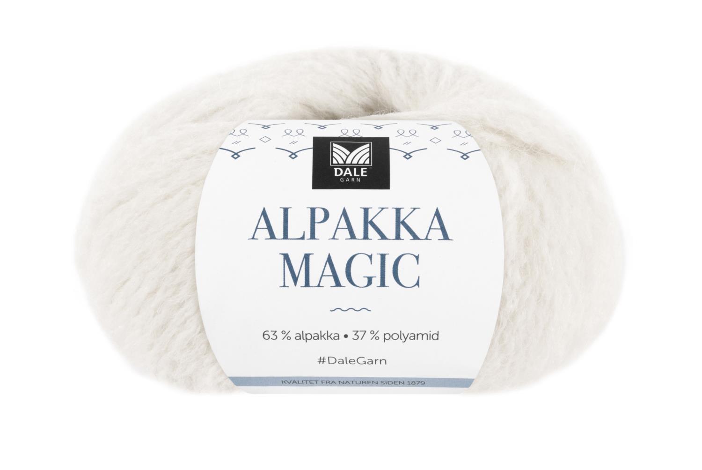 Alpakka Magic - Hvit