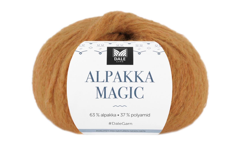 Alpakka Magic - Gul