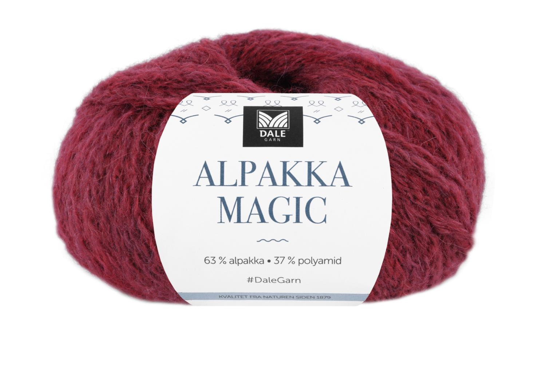 Alpakka Magic - Rød Terrakotta