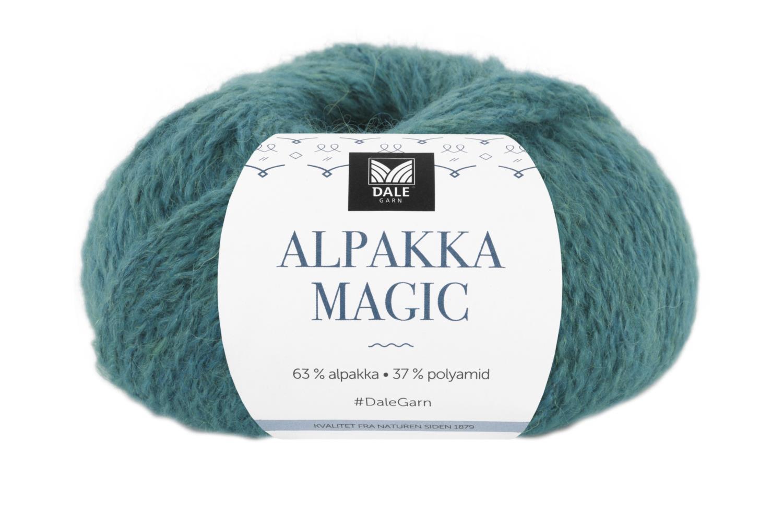 Alpakka Magic - Dyp sjøgrønn