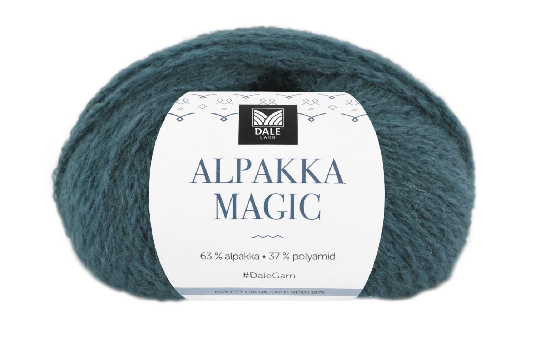 Alpakka Magic - Petrol