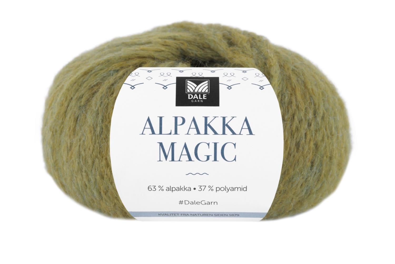 Alpakka Magic - Vårgrønn