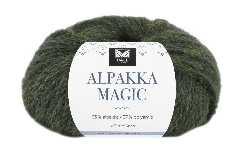 Alpakka Magic - Eføygrønn