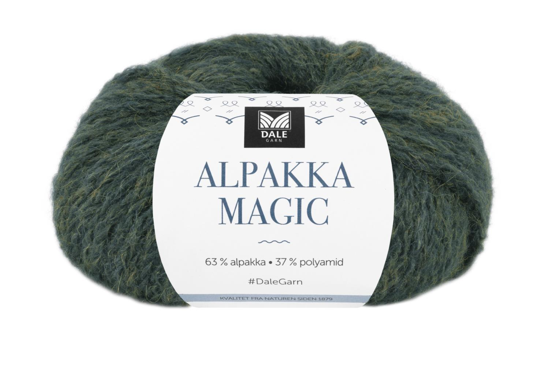Alpakka Magic - Barlindgrønn