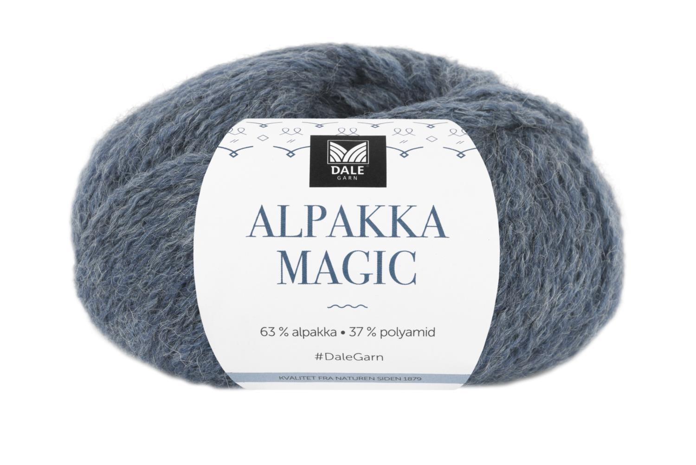 Alpakka Magic - Denimblå