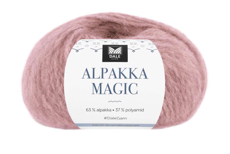 Alpakka Magic - Dus rose
