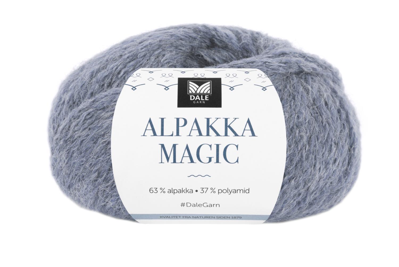 Alpaca Magic - Lys denim