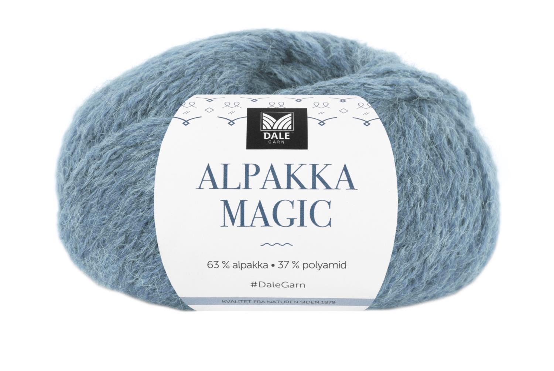 Alpakka Magic Jeansblå