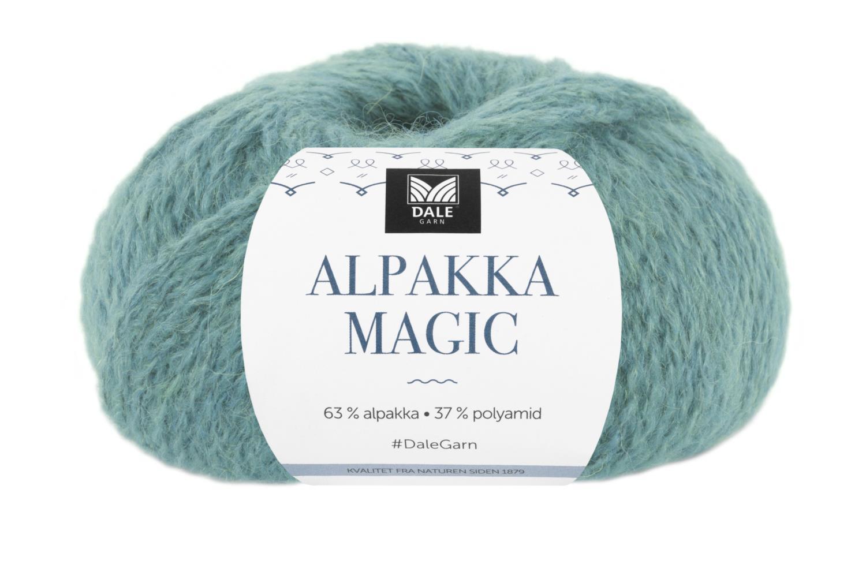 Alpakka Magic Sjøgrønn